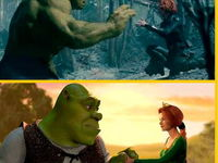 Shrek & Hulk 4ever :)